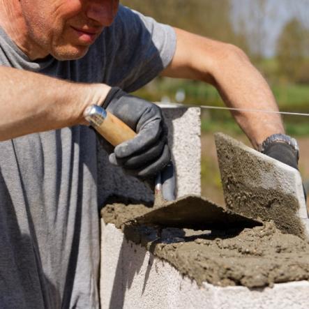 Construction et travaux de maçonnerie